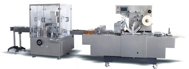 DZ/BT80P automatic bottle packaging line cartoning