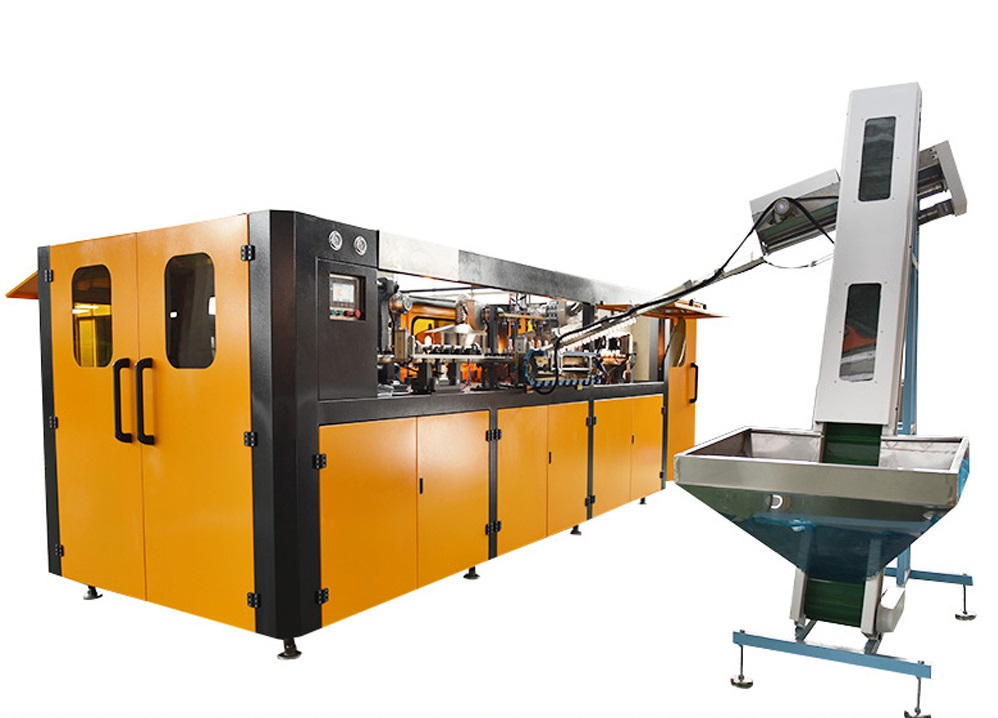 Semi-Automatic Stretch Blow Moulding Machine Daily Cosmetic Bottle Blow Molding Equipment