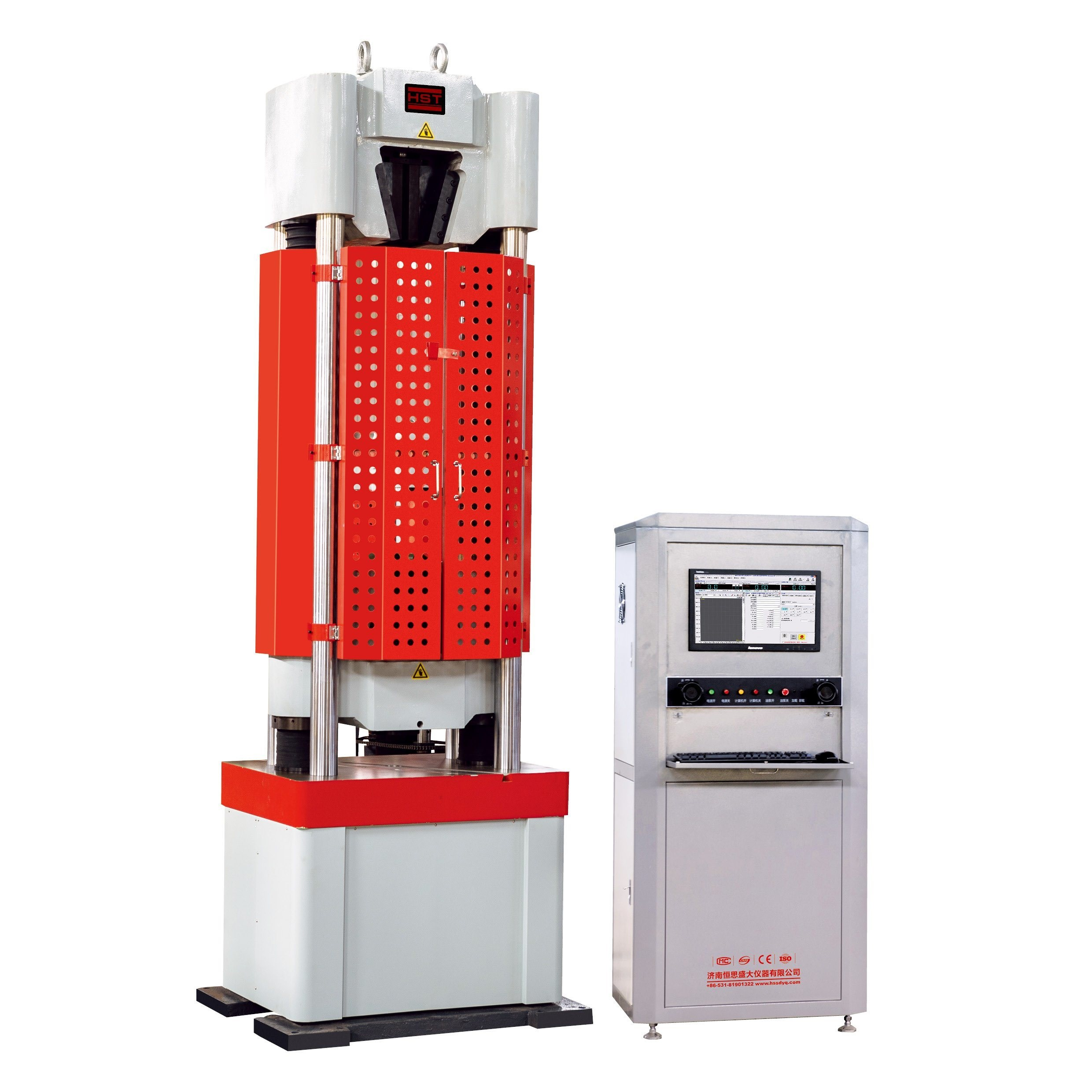 Computer Metal Bar Electronic Servo Hydraulic Universal/Tensile/Compression/Bending Testing Equipment