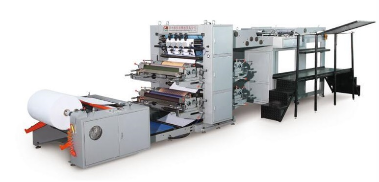 Student Exercise Book Printing Machine, Making Reel to Sheet Equipment