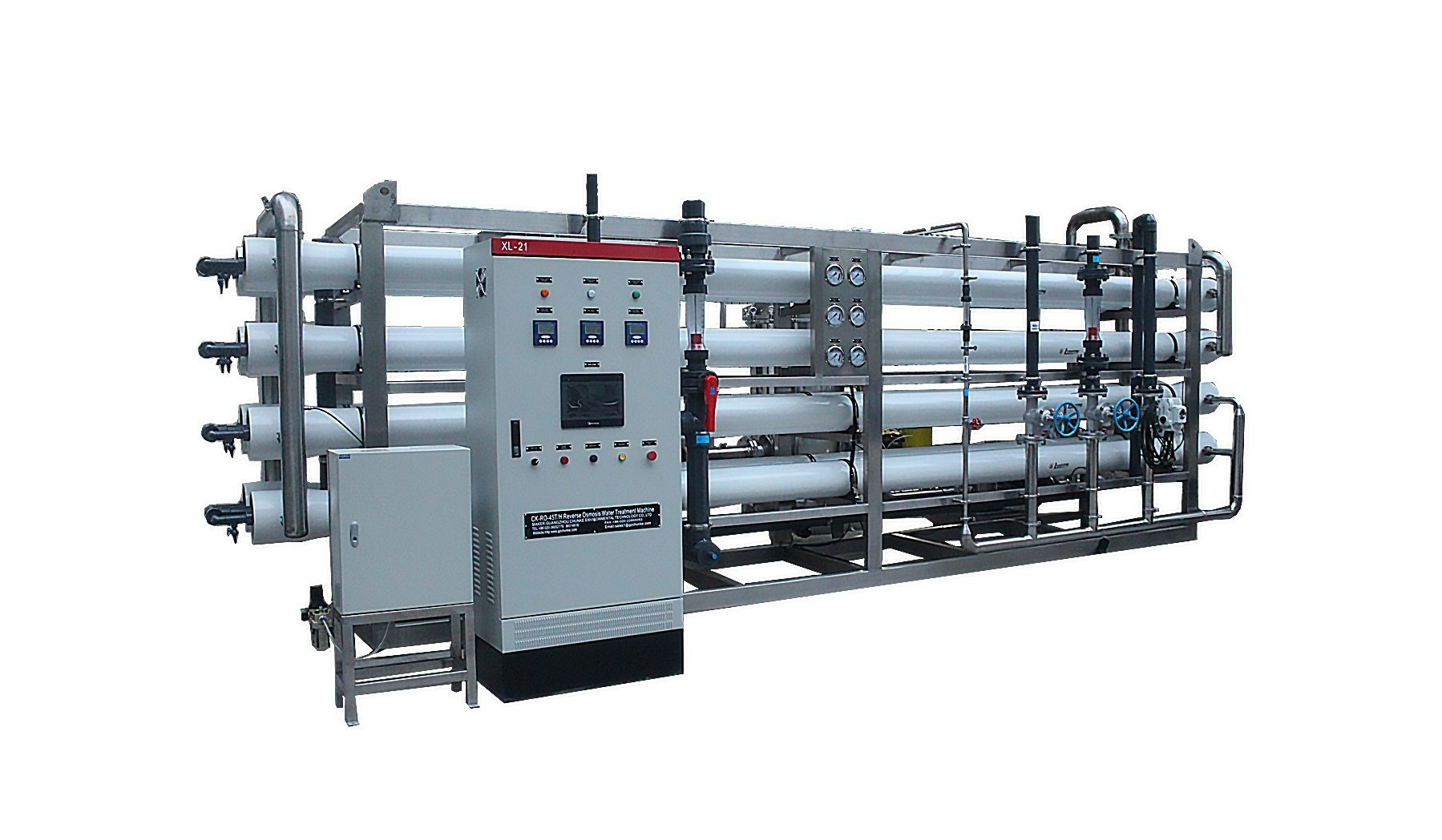 45t/H Stainless Steel RO Water Treatment Plant Equipment Manufactor